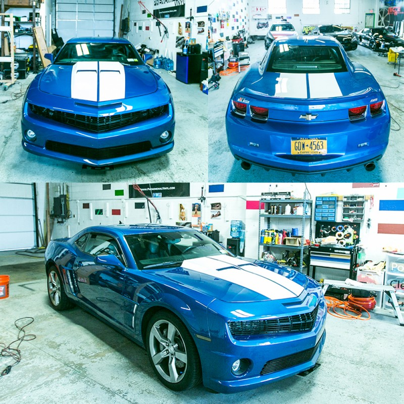 Camaro Stripes Stich