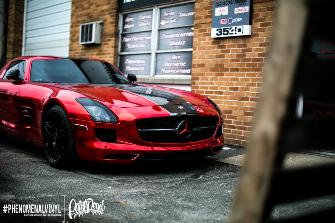 Red Chrome SLS-4