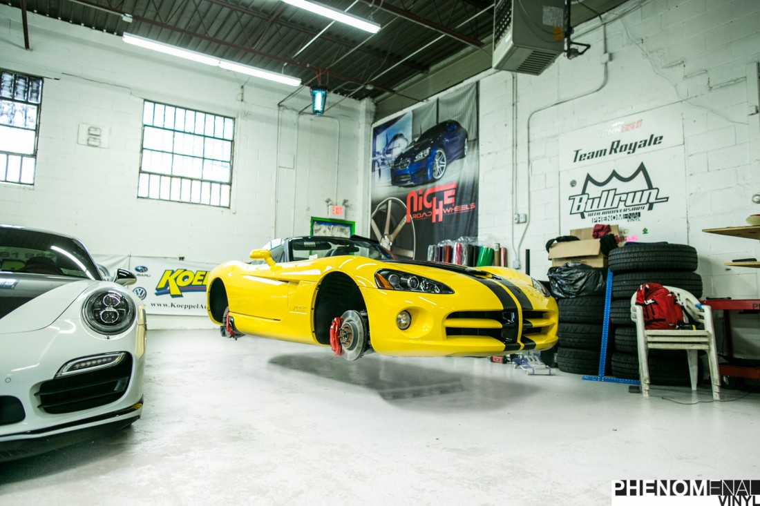 Yellow Viper Stripes-2