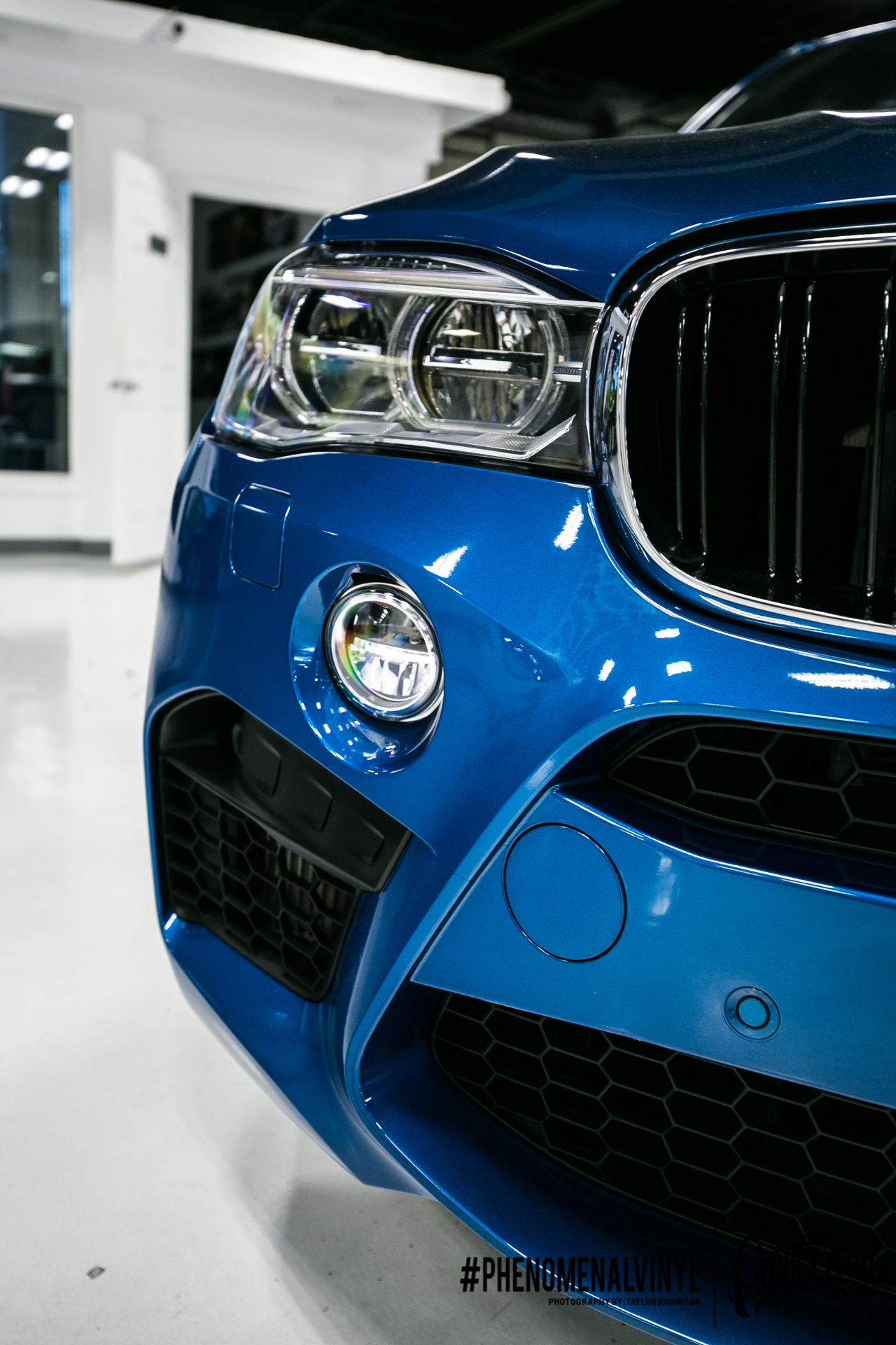 2015 Bmw X6m In Xpel Clear Paint Protection Film Front