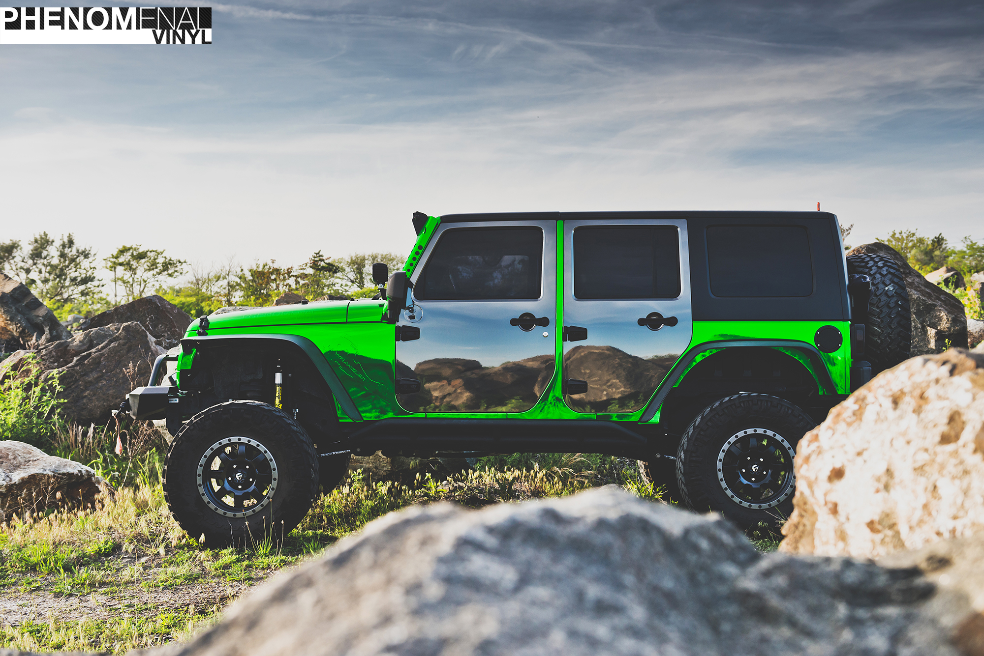 5 Different Wraps 1 Jeep Wrangler Whats your favorite