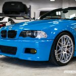 2001 BMW M3 in Oracal Lagoon Blue
