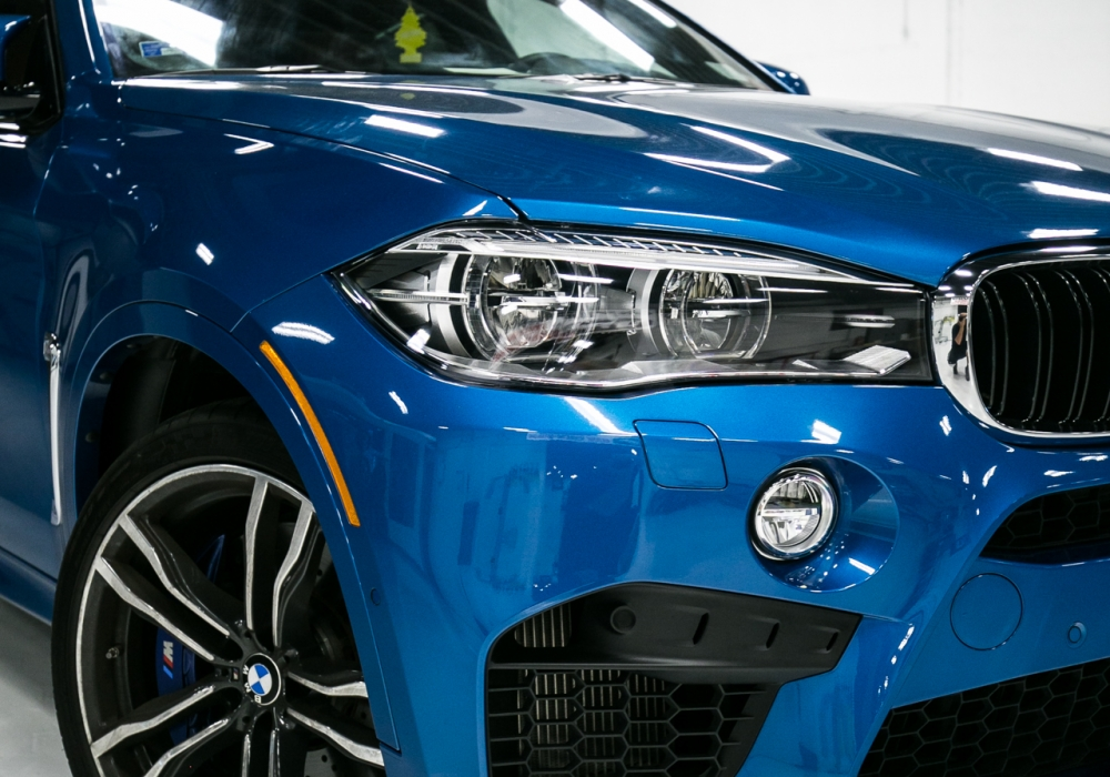 2015 BMW X6M in XPEL Clear Paint Protection Film (Front End)
