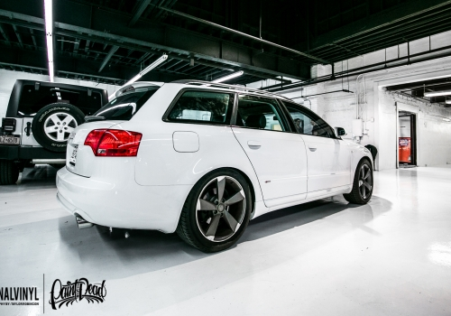 2007 Audi A4 Avant Gloss Black Trim & Ceramic Pro