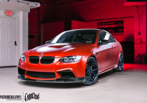 2011 BMW M3 in Satin Candy Red