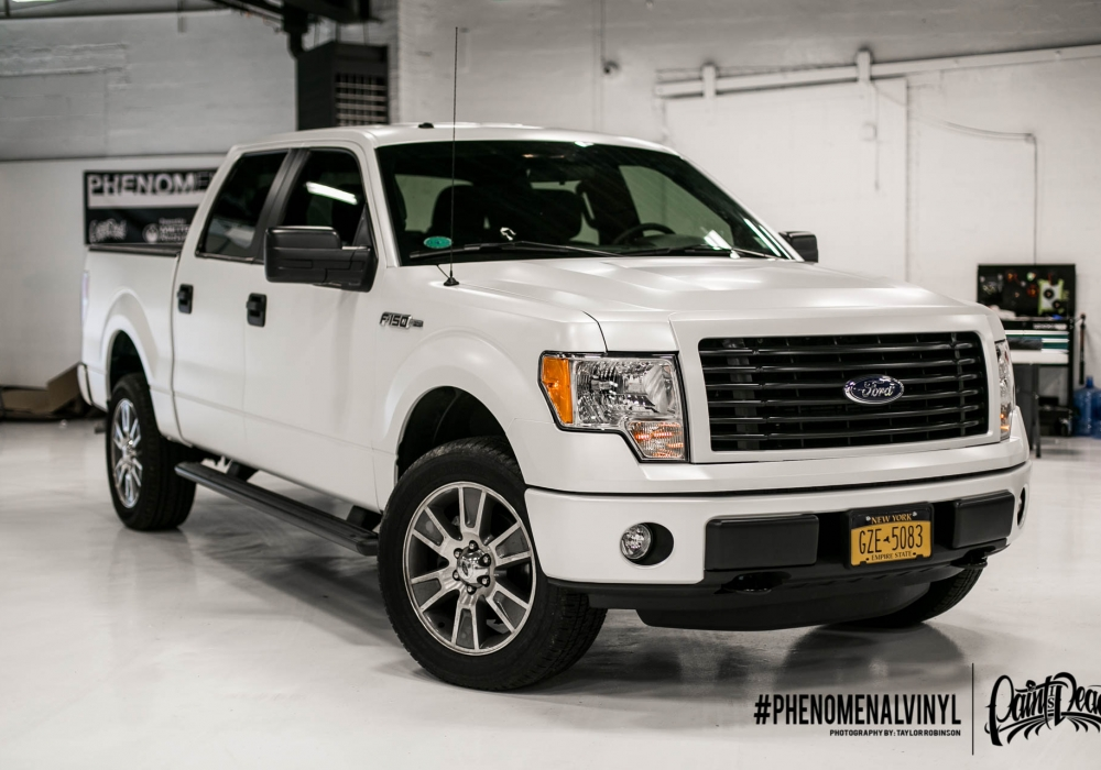 2014 Ford F-150 in Satin White Pearl
