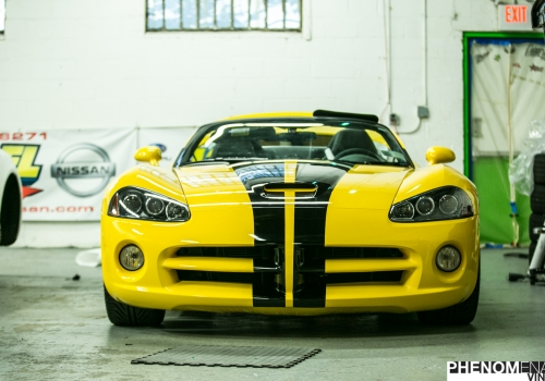 Dodge Viper Gloss Black Stripe Kit