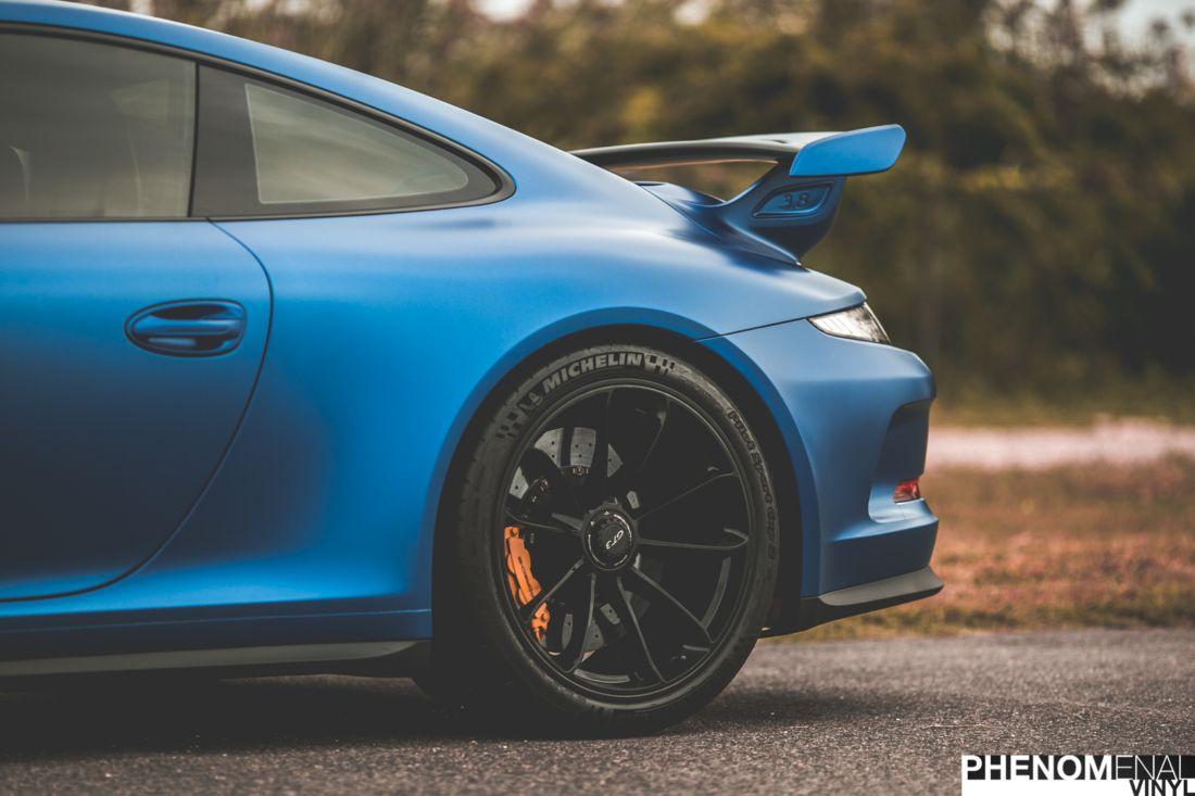 2014 Porsche 911 Gt3 Matte Clear Bra Phenomenalvinyl
