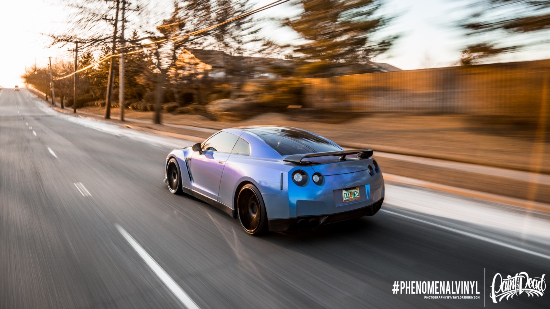 KPMF Blue Gray GTR Rolling Shots