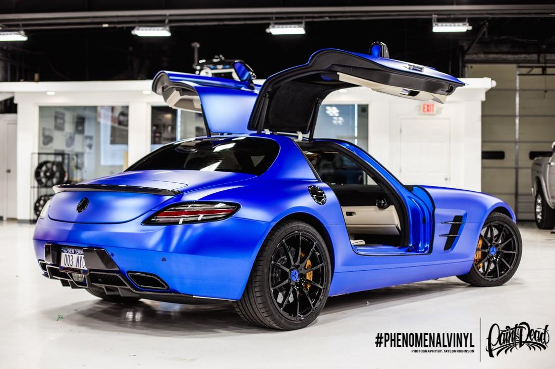Satin Blue Chrome SLS-14